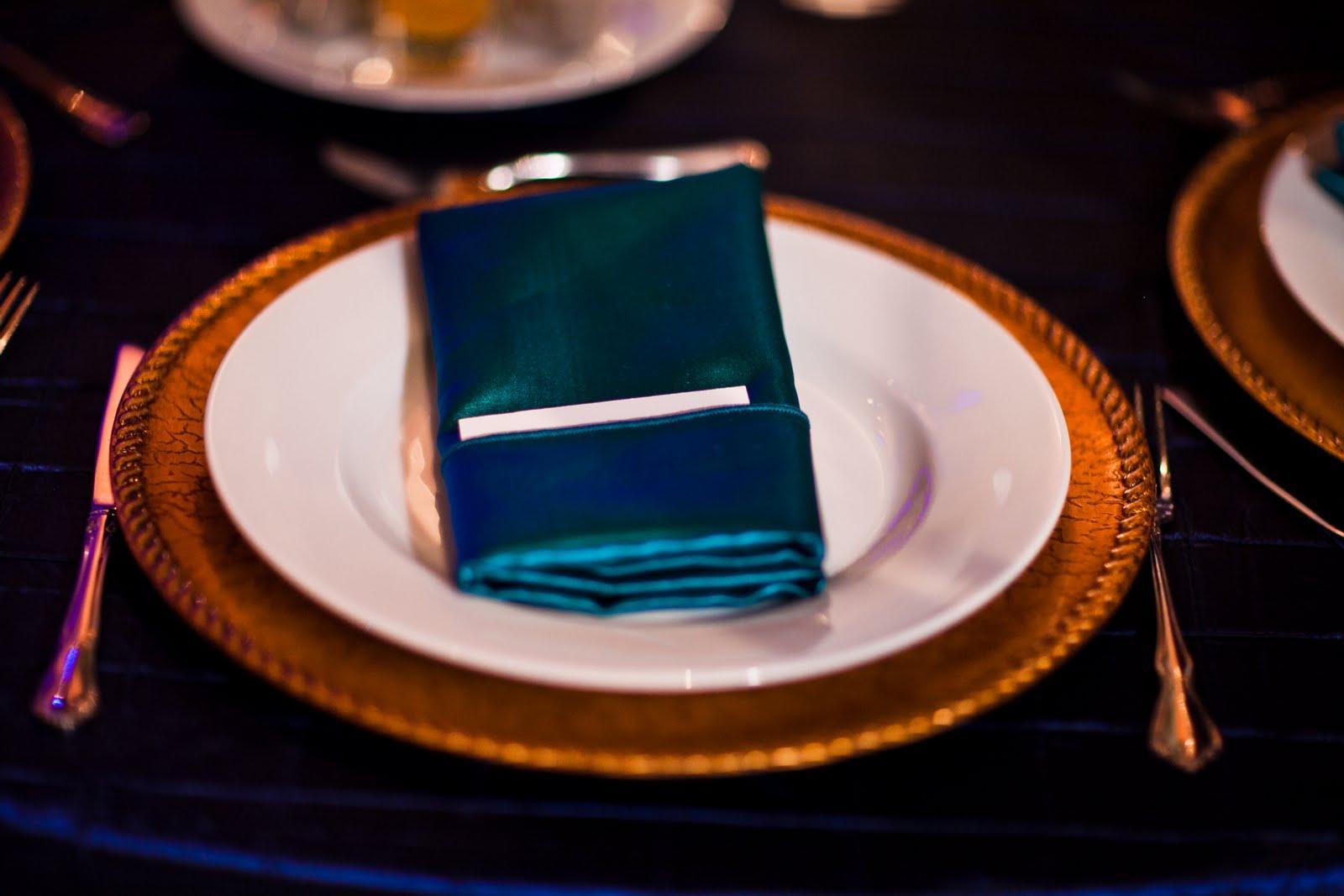 pintuck table linens wedding