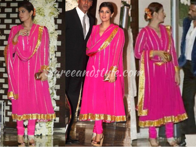 Twinkle Khanna n Abu Sandeep - Style and Saree