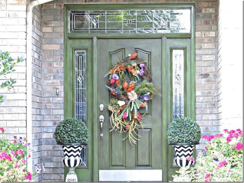 Autumn Thanksgiving wreaths