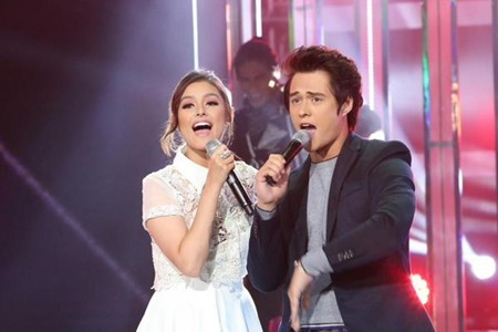 Liza Soberano and Enrique Gil in Your Face Sounds Familiar