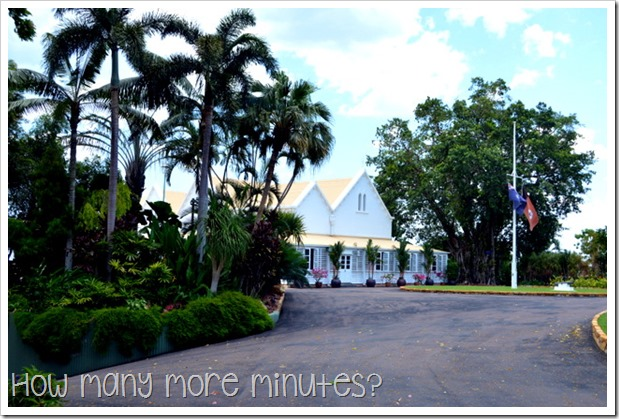 Government House in Darwin | How Many More Minutes?