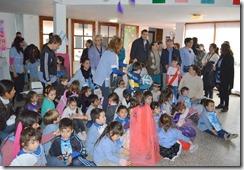 El mandatario local compartió la mañana de conmemoración patrios junto a los más pequeños