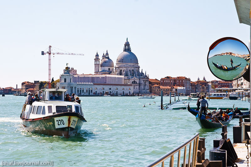 Италия, Венеция, вапоретто