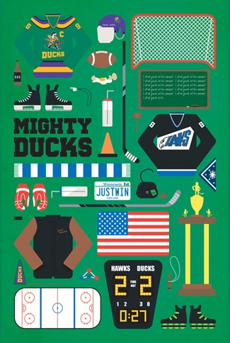 Movie Parts Series Mighty Ducks by Emma Butler