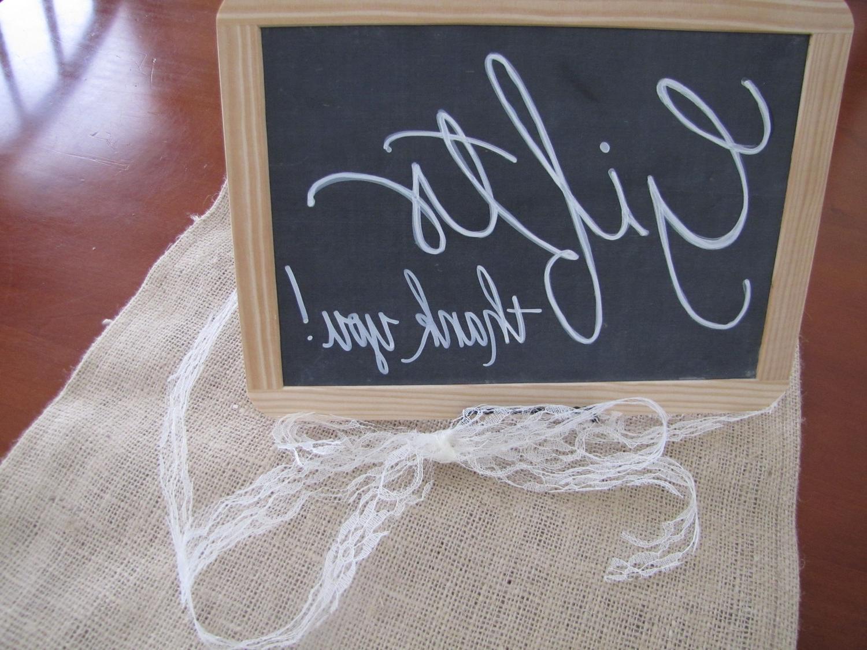 Wedding or Party Chalkboard