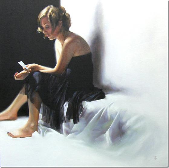 the Black Dress-Tina-Sprat-ENKAUSTIKOS