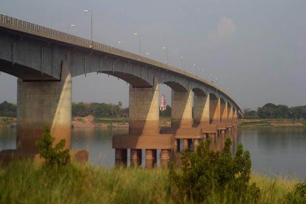 Kizuna Bridge, Kampong Cham, Cambodia.