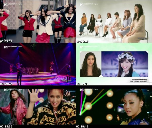[TV-Variety] MTV Biography:E-girls – 2016.01.31