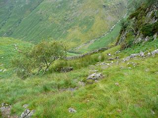A steep descent!!