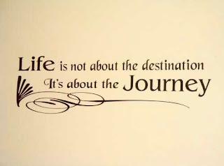 life is a journey not destination