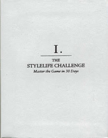 Cover of Neil Strauss's Book The Stylelife Challenge Master The Game In 30 Days