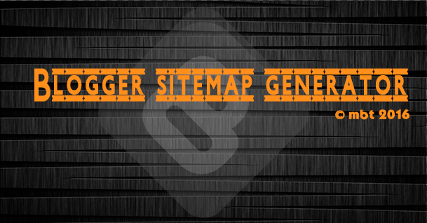 Blogger Sitemap Generator and Pinger