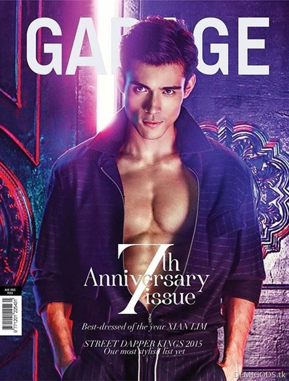 Xian Lim Garage magazine August 2015 (1)