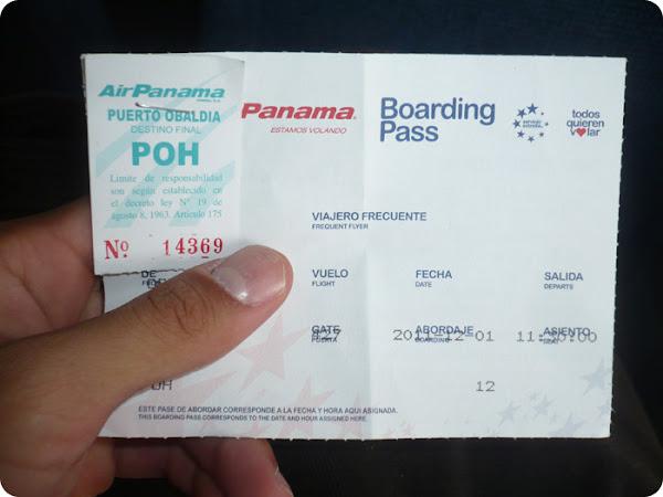 Boleto de Panamá hacia Puerto Obaldía