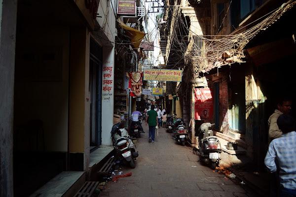 индия улочка