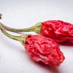 Hot pepper by Marius Radu - Food & Drink Ingredients ( pepper, red, chili, hot, food )