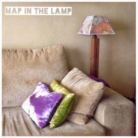 Map in the lamp