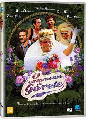Filme Poster O Casamento de Gorete DVDRip XviD & RMVB Nacional