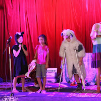 Family show, James Funnyhat - by Stuart Laughton