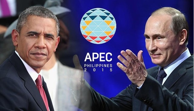 Image of Russian President Vladimir Putin Participation on APEC Summit in Manila