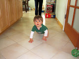 Lynda's son Grant (almost 1 year old)