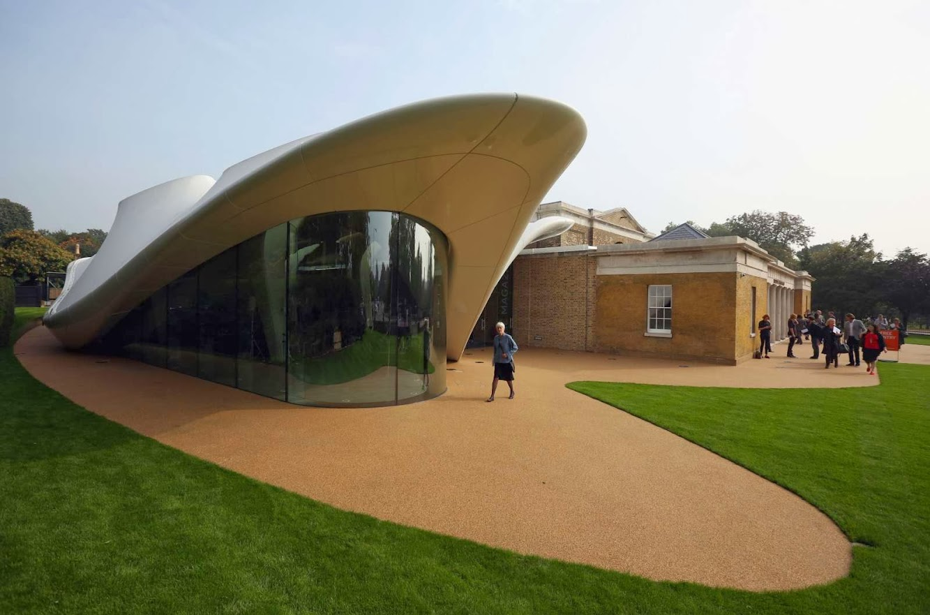 The Serpentine Sackler Gallery by Zaha Hadid to