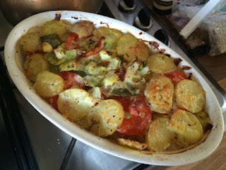 Rationing Cheese Vegetable Bake