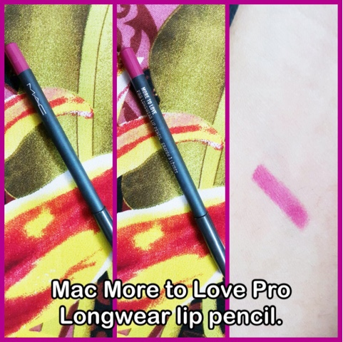 Mac More to Love Pro Longwear lip pencil.