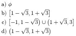 Conjunto Solucion Desigualdades Inecuaciones Matemáticas Universidad Nacional de Colombia