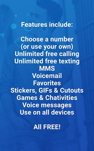 TextPlus Text + Calls - screenshot