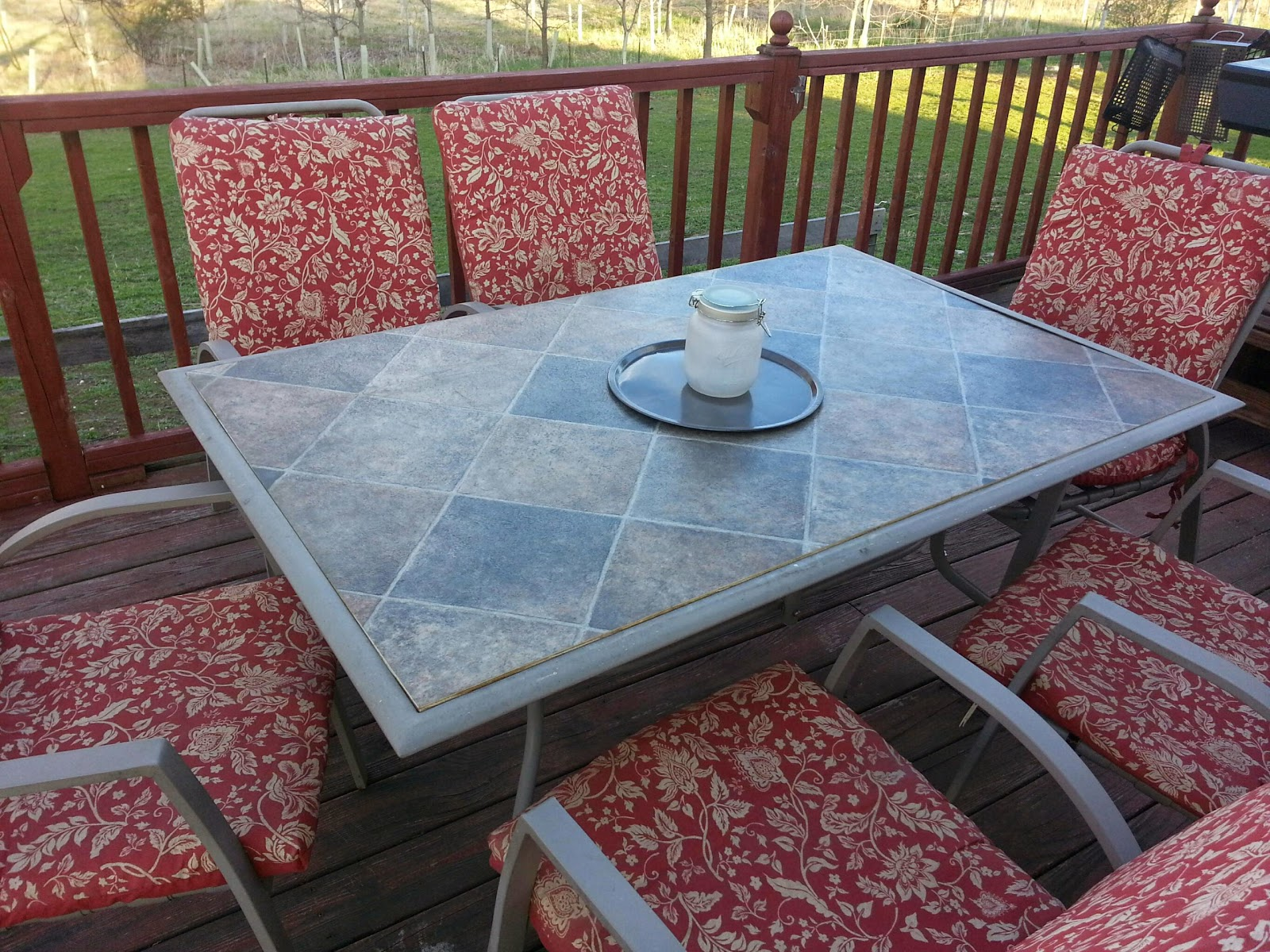 Replacing The Broken Glass On Our Patio Table