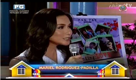 Mariel Rodriguez-Padilla back in PBB