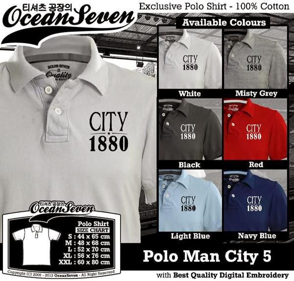 POLO Man City Manchester City 5 Premier League distro ocean seven