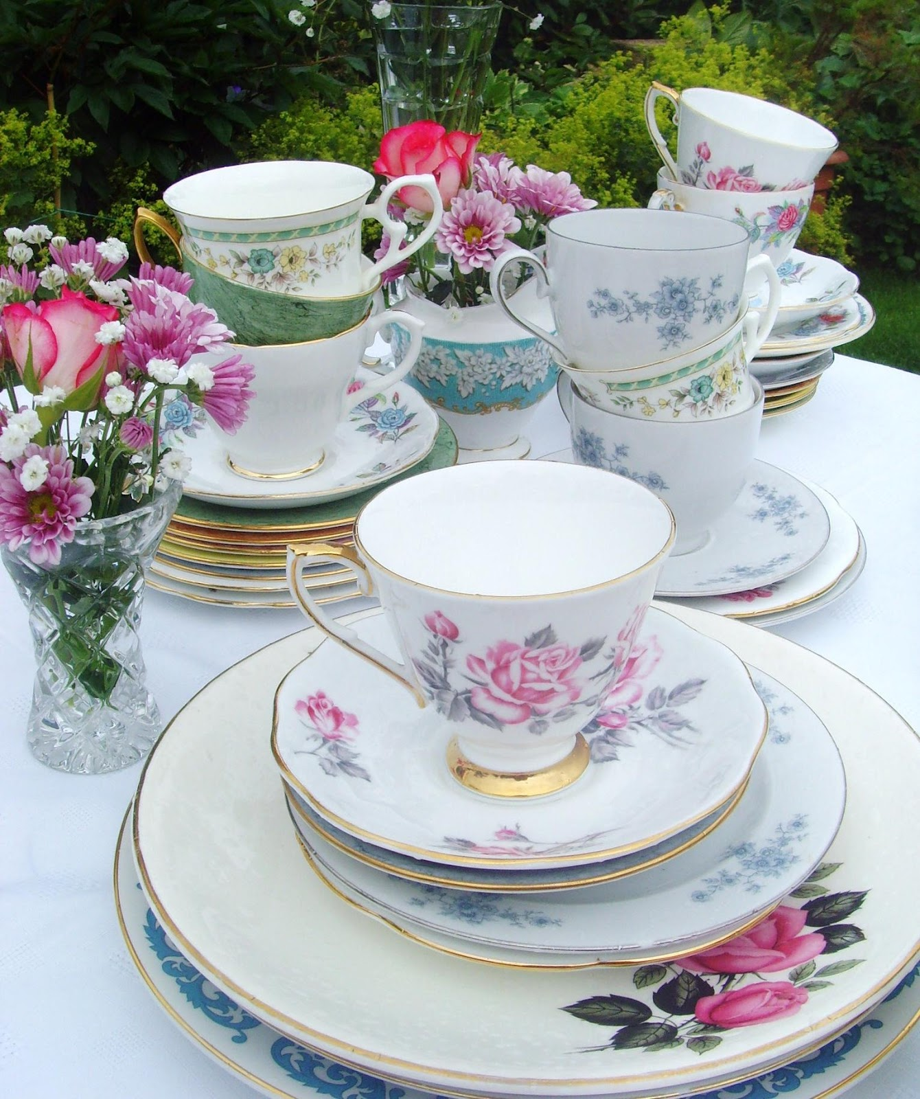Tea Set Hire North East