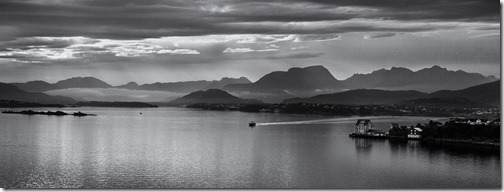 EVENING IN ALESUND by 17