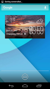 Coolangatta weather widget - screenshot
