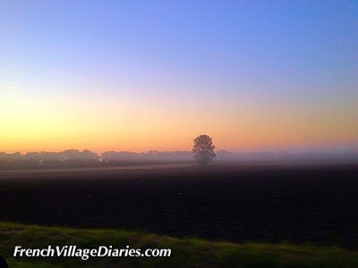 French Village Diaries September sunrise Poitou-Charentes