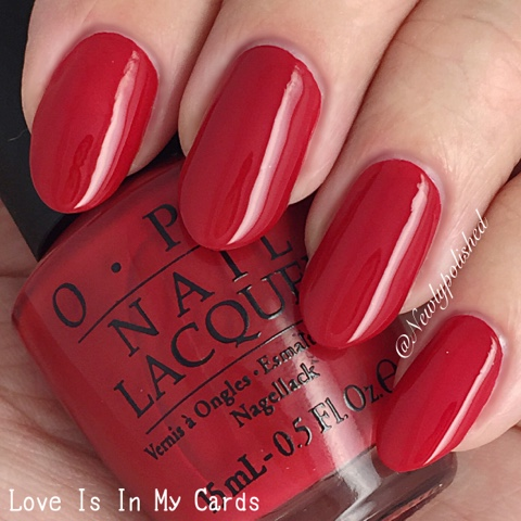 OPI Love is in my cards