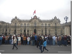 Lima Regierungsgebäude