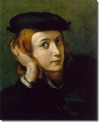 Correggio Portrait
