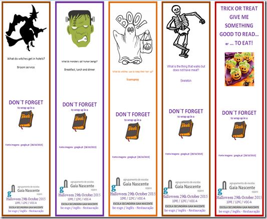 marcadores halloween