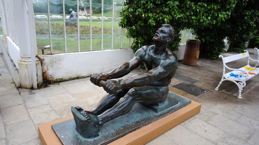 Скульптура гребца