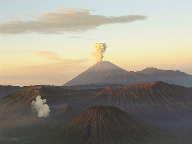 Mount Semeru and Mount Bromo, Indonesia