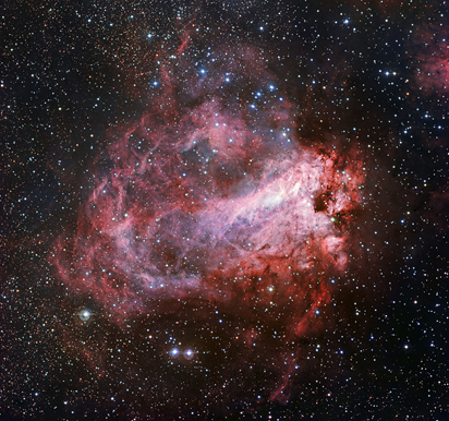 região de formação estelar M17