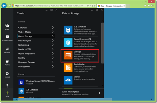 storage-option-azure-portal