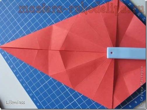 flor de pascua origami (9)