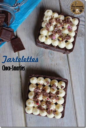Tartelettes Choco-Smarties 3