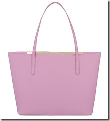 Ted Baker pale purple tote