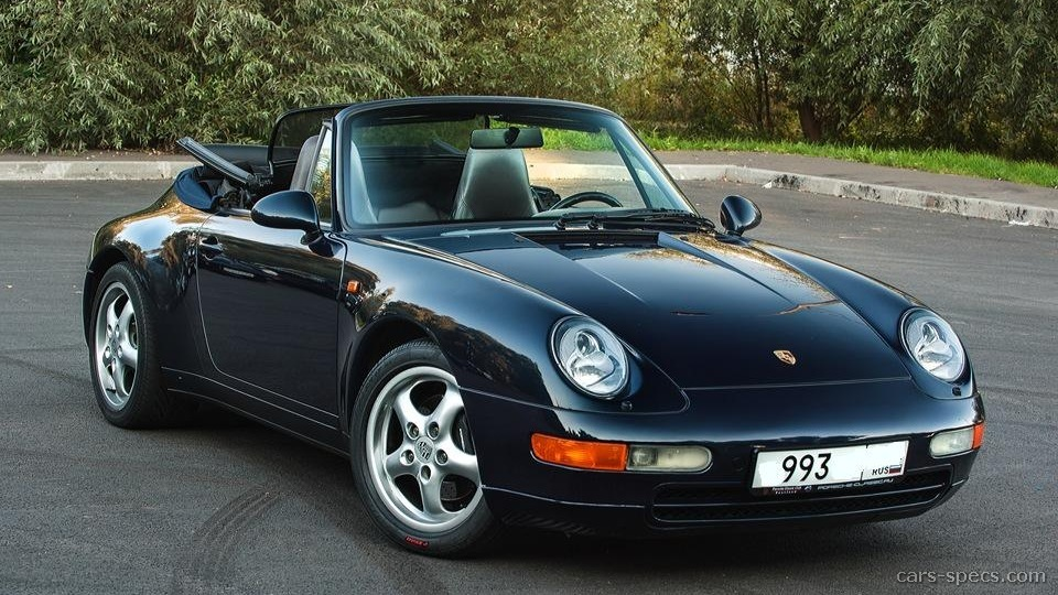 1998 Porsche 911 Convertible Specifications Pictures Prices