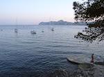 Abends am Meer / Вечером у моря